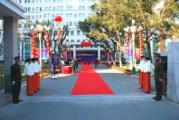 第二军医大学外训系新营院启动仪式